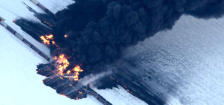 casselton fire north dakota oil train national geographic