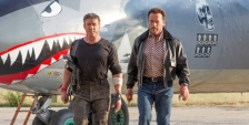 """Sylvester Stallone and Arnold Schwarzenegger in """"The Expendables 3"""" (photo -- Lionsgate)."""
