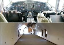 the learning jet cockpit and cargo space from mn women in aviation facebook