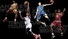 timberwolves wiggins young bennett lavine
