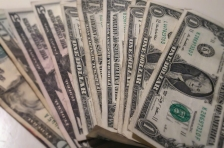 cash money fanned blur (green)