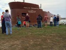 duluth ship stuck (from twitter)