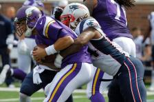 Matt Cassel sacked (Vikings.com) SAFE with credit