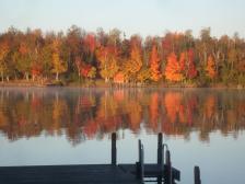 fall colors lake vermillion (byMelanie Hill Strobel)