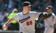 Twins pitcher Trevor May, Sept. 14, 2014.