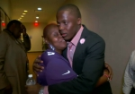 bridgewater teddy hugs mom after falcons game