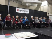 Duluth 100 year olds birthday party (photo Twitter -- Ray Linville)