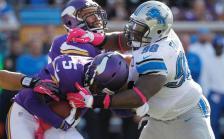 Lions sack Bridgewater (Vikings.com) SAFE with credit