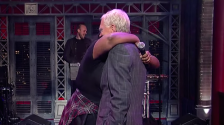 lizzo on letterman crop