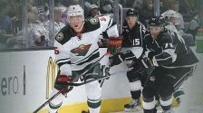 Minnesota Wild vs. Los Angeles Kings, Oct. 19, 2014 in Los Angeles