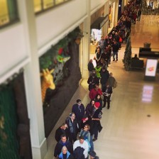 ll bean mall of america opening line