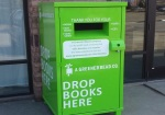 Four book and CD donation bins have been set up in Fargo under the pilot project.