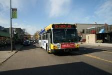 bus busses line transportation metro transit green