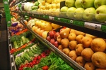 organic produce fruit vegetables grocery store supermarket green