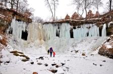 frozen minnehaha falls flickr