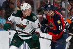 Mikko Koivu tallies a pair of assist in Wild road win.