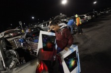 GETTY EDITORIAL DO NOT REUSE black friday shopping 2013