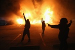 Getty Editorial DO NOT REUSE - ferguson riots nov. 24 no indictment michael brown darren wilson