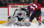 Minnesota Wild goalie Josh Harding