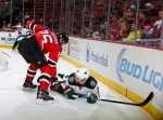 Minnesota native Seth Helgeson helps Devils to win in his debut