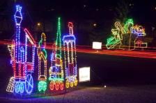 Lake Phalen Holiday Lights display.