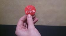 i voted sticker 2014 GREEN