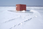 ice house ice fishing white bear lake flickr
