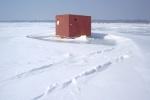 ice house ice fishing white bear lake flickr