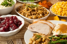 ISTOCK GETTY REUSE OK thanksgiving turkey dinner