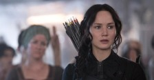 Jennifer Lawrence in 'The Hunger Games Mockingjay - Part 1' (photo -- Lionsgate Films)