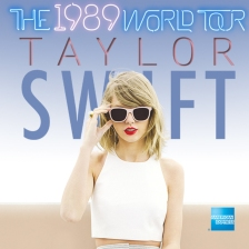taylor swift 1989 world tour promo shot