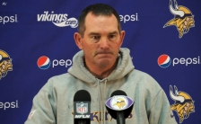 mike zimmer press conference nov. 24 2014