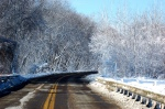 minnesota winter road via flickr