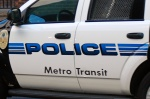 metro transit police car green