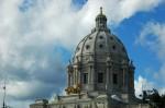State capitol minnesota st. saint paul senate house green