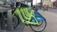 nice ride bike station minneapolis oct 2014 GREEN