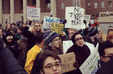 Ferguson protest at University of Minnesota