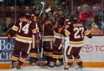 UMD celebrates (Duluth News Tribune Twitter) Embedded 2014-11-14 at 9.22.28 PM