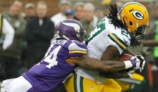 Vikings vs Packers, Nov. 23, 2014.