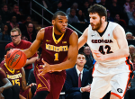 Gopher men's basketball player Andre Hollins has been named Big Ten Player of the Week.