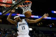 Wolves put Corey Brewer back on the trading block.