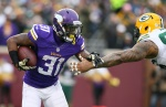 Vikings leading-rusher Jerick McKinnon ruled out for Sunday's game against New York.