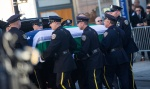 Thousands attend the wake for gunned down NYC Police Officer Rafael Ramos.