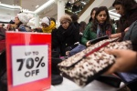 GETTY EDITORIAL DO NOT REUSE shopping boxing day after christmas