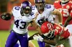 Minnesota Vikings running back Dominique Williams