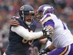 Bears defensive end Jared Allen
