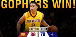 Gophers beat Furman (Gophers MBB Twitter) Linked Embedded 2014-12-22 at 9.02.10 PM