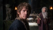 Martin Freeman in 'The Hobbit The Battle of the Five Armies' (photo -- Warner Bros.)
