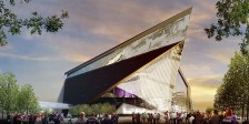 Vikings stadium drawing