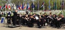 Minnesota's state band performs  on Memorial Day